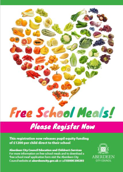 Free School Meals Registration Dyce Academy – Free School Application Form